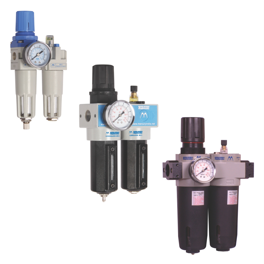 Air Filter, Regulator and Lubricator